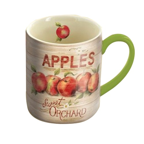 [LANG]머그14온즈-Apple Orchard