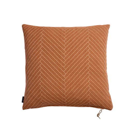 [OYOY]FLUFFY HERRINGBONE CUSHION-쿠션 (CARAMEL)