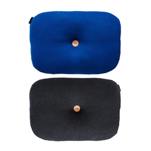 [OYOY]BUMBLE CUSHION-쿠션(DARK GREY & DAZZLING BLUE)