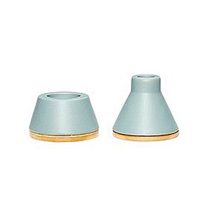 [hubsch]GREEN CANDLE HOLDER SET