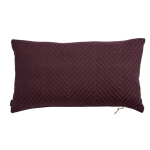 [OYOY]FLUFFY HERRINGBONE CUSHION-쿠션(wine)