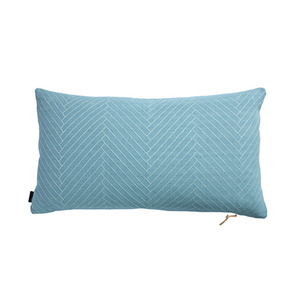 [OYOY]FLUFFY HERRINGBONE CUSHION-쿠션(AQUA)