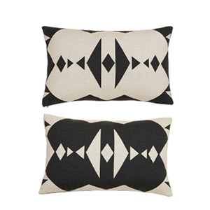 [OYOY]HOPI CUSHION-쿠션(DARK GREY & WHITE)
