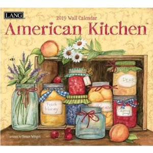 [LANG]2019달력-american kitchen